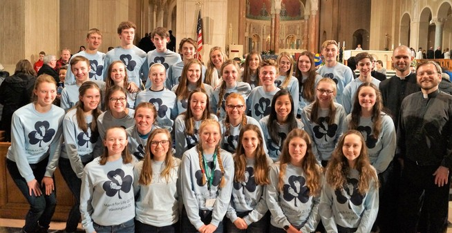Hackett Catholic Prep Kalamazoo Private School CSGK Respect Life March for Life
